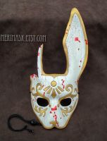 Splicer leather mask #3 by merimask