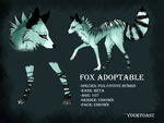 Fox Adoptable (SOLD) by Yourtoast