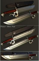 Chainsaw-Bowie Knife by mrhd
