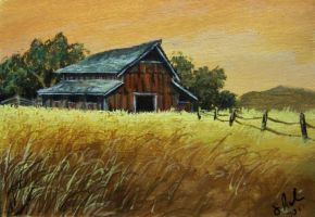 ACEO Fall Harvest by annieoakley64