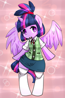 Twilight Sparkle X Isabelle by ACharmingPony