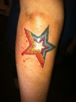 Star Tattoo by GoatHouse-Ink