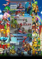 Mario Kart 7 Youtube Background by GreenHavocKirby