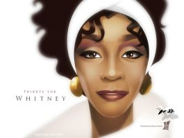 Tribute for Whitney by braeonArt