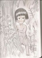 Grave of the Fireflies: Setsuko by sealandmintbunny