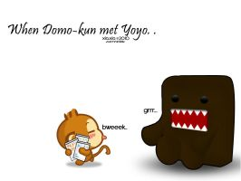 When Domo met Yoyo by xiaohime23
