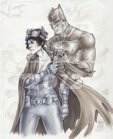 The Bat and the Cat by BAM---BAM