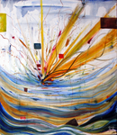 Abstract Explosion by kirsten7767