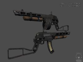 Post Apocalyptic PPSh-41 by scottmack1