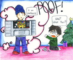Earthbound 100: Christmas by Magic-Cake-Woman