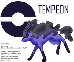 Fakemon- Tempeon by XWolf-ShadowX