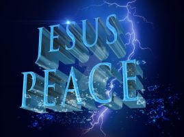 JESUS PEACE by vancegraphics