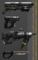 CHROMA - Weapons #1 by Minyi