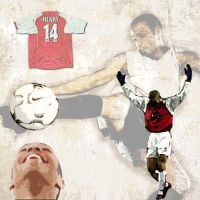 Thierry Henry by steakncheese