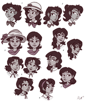 Jacqueline Cabrera Head Concepts by Ric-M