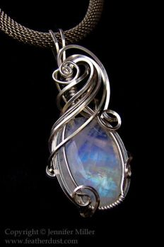 Ethereal Waves Moonstone by Nambroth
