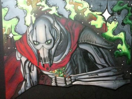 General Grievous: Star wars by OB-RUSH-OBEH-SMB