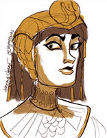 Cleopatra by jaymetwins