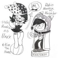 Stella and Robin, Parodied to Marx and Magalor by komi114