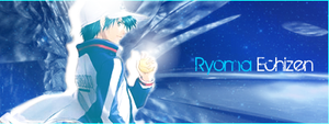 Ryoma Echizen Banner by klll100