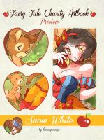 Fairy Tale Artbook: preview by Kimmymanga