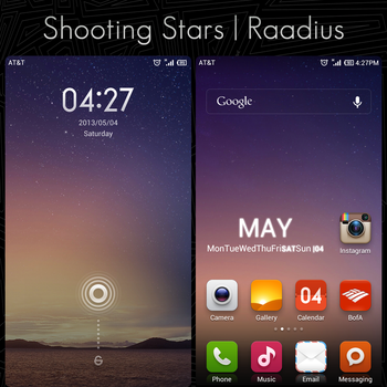 Shooting Stars by Raadius