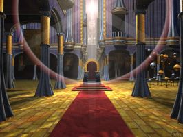 Throne Room by kryttre