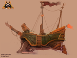 Mutiny: Ship Concept by michaeldoig