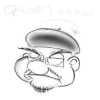 Grumpy old man by Mick-F18