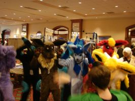 Akon 20: Eevee-lutions by Awkwardly-Handsome