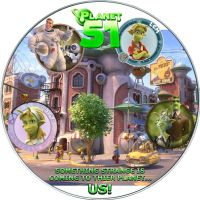 Planet 51 Disc Label by RoadWarrior00