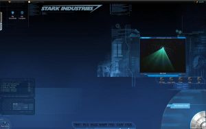 Iron Man inspired desktop by Jack-Stark
