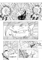 Goku SSJ3 VS Vegeta SSJ3 - Page 2/2 by Renow54