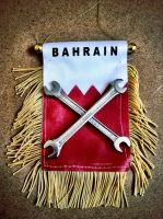 bahrain flag racing by hussainy