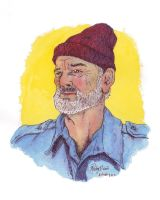 Steve Zissou color by BigDogsStudio