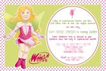 Winx Invitation Design + Art by kanazuchi92