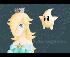 Princess Rosalina by Lady-Zelda-of-Hyrule