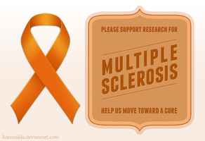 Multiple Sclerosis awareness by KimMaida