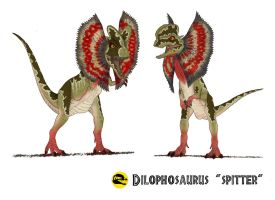 Jurassic Park: Spitter Fight Colored by March90