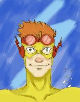 Kid Flash by WeasleyTwin