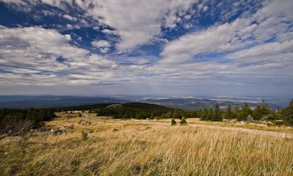 Wide view from the Brocken by Bull04