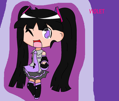 GIFT-Violet As Miku by watersong-ppg