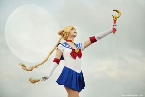 Pretty Soldier Sailor Moon by vaxzone