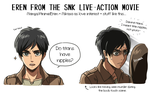 Live Action Eren by ROSEL-D