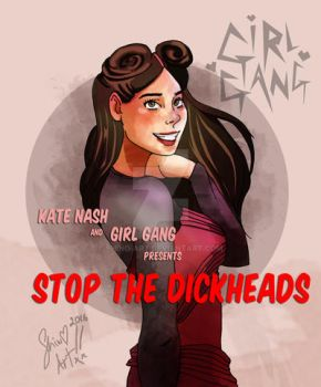STOP THE DICKHEADS by Shino-Art