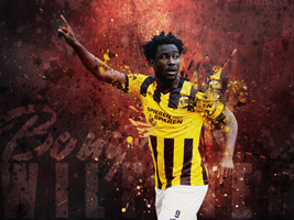 wilfried Bony Wallpaper Danatu by XB21