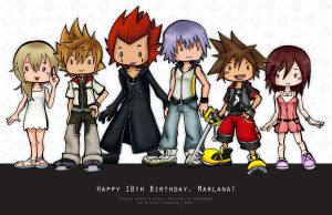 KH || Happy Birthday, Marlana! by WanderingDarkness205