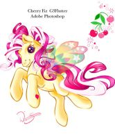 Cherry Fiz Flutter pony by Tamisery