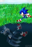 Sonic Unleashed: Run by Dbzbabe