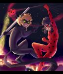 Ladybug and Chat Noir by Le-Poofe